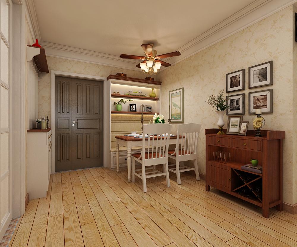 二居 美式风格 餐厅图片来自乐豪斯装饰张洪博在天海誉天下两室装修效果图的分享