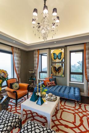 欧式 别墅 端庄典雅 高贵华丽 温馨 衣帽间图片来自天津别墅室内装修在红磡领世郡-欧式的分享