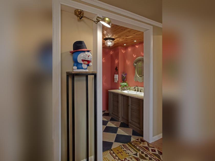 美式 现代 三居 家装 其他图片来自南京实创装饰夏雨荷在金域蓝湾150平美式清新的分享