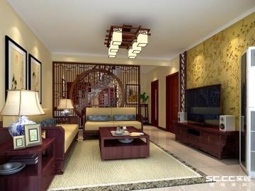 中式风樱花园160平loft设计方案