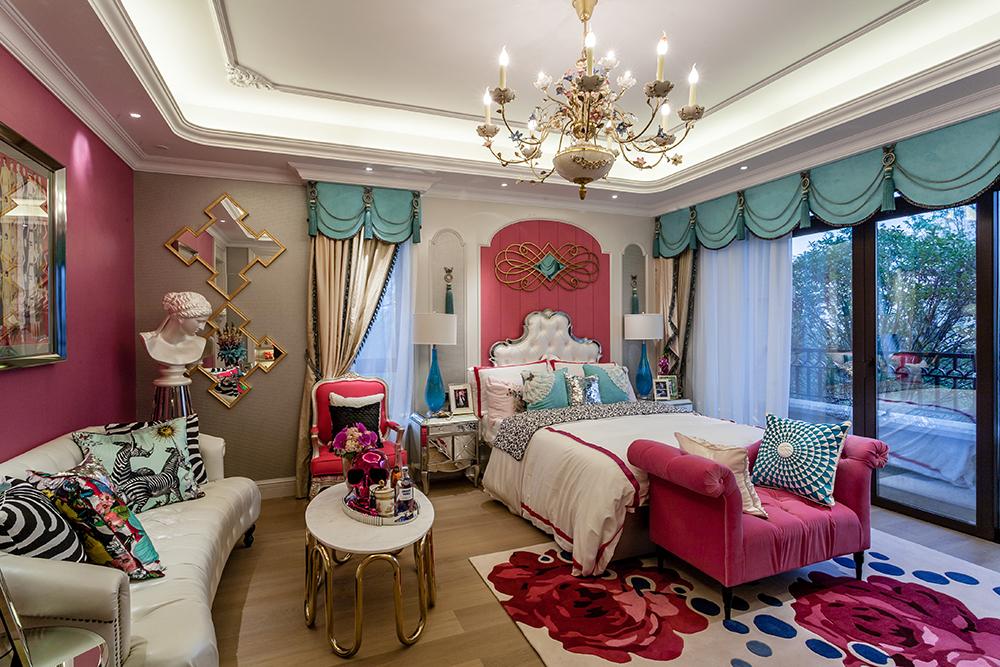 欧式 别墅 端庄典雅 高贵华丽 温馨 儿童房图片来自天津别墅室内装修在红磡领世郡-欧式的分享