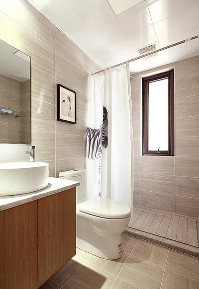 卫生间图片来自家装大管家在现代日式 97平温润醇和兼顾隐私的分享