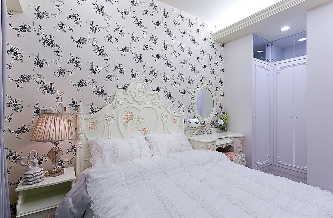 田园 欧式 三居 小清新 小资 卧室图片来自一号家居网成都站在贵通御苑雙楠城的分享