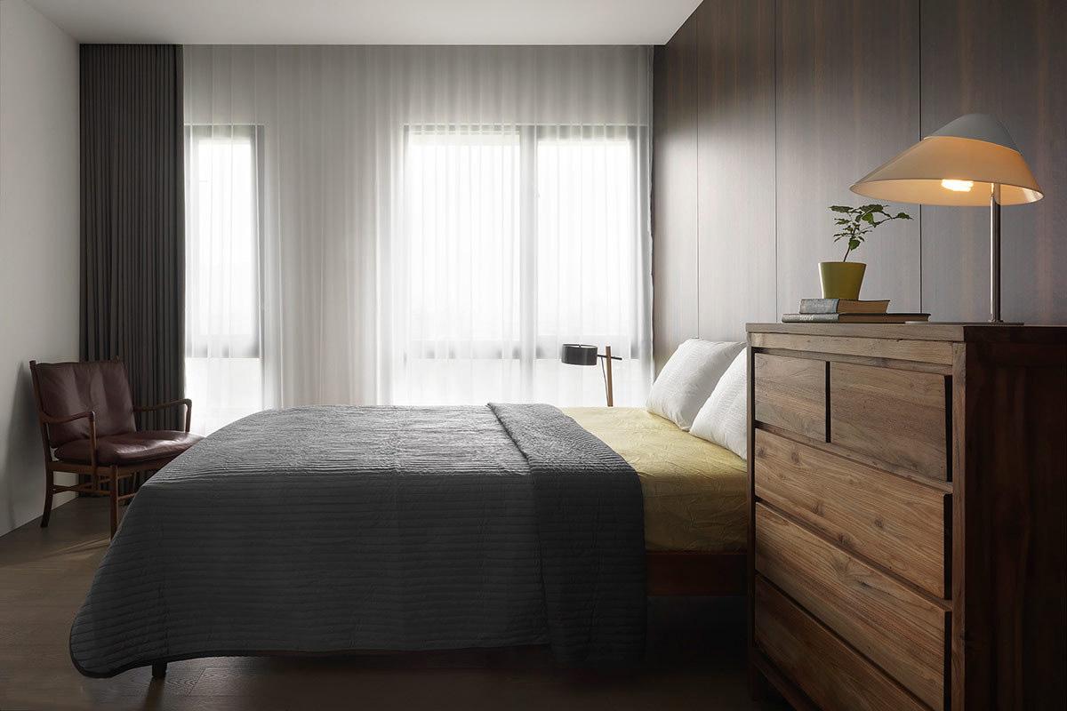 简约 三居 小资 沉静 卧室图片来自一号家居网成都站在中铁瑞景颐城的分享