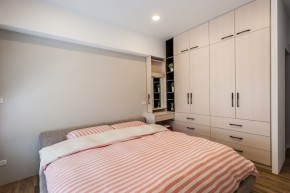 北欧 木式 舒适 卧室图片来自成都丰立装饰工程公司在木色北欧  打造舒适生活的分享