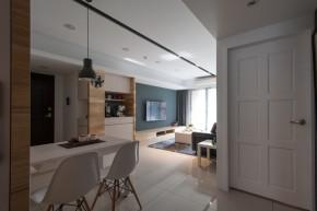 北欧 木式 舒适 餐厅图片来自成都丰立装饰工程公司在木色北欧  打造舒适生活的分享