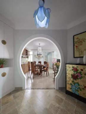 简约 新中式 三居 收纳 旧房改造 小资 混搭 客厅 其他图片来自沙漠雪雨在135平米现代简约新中式混搭三居的分享