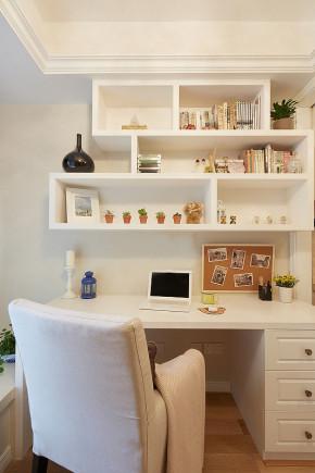 清新 二居 小资 美式 温馨 书房图片来自一号家居网成都站在武海中华名城的分享
