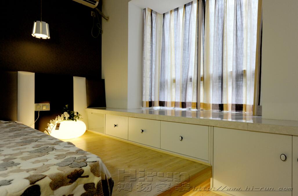 卧室图片来自鸿扬家装武汉分公司在南国明珠北欧之光的分享