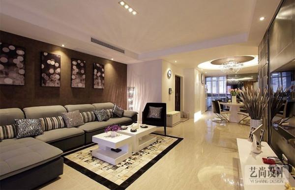盛润锦绣城90平方三室两厅一卫装修效果图