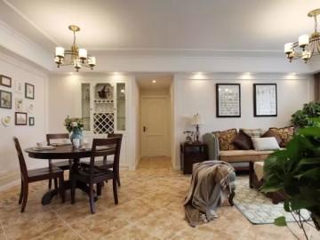 4房2厅小清新美式的新家