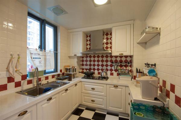 马赛克主题的厨房