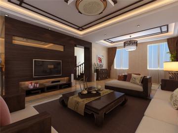 香堂别墅-400平米-中式风格