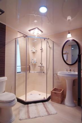 简约 现代 三居 温馨 卫生间图片来自一号家居网成都站在七彩花都的分享