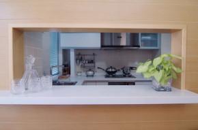 简约 现代 三居 温馨 厨房图片来自一号家居网成都站在七彩花都的分享