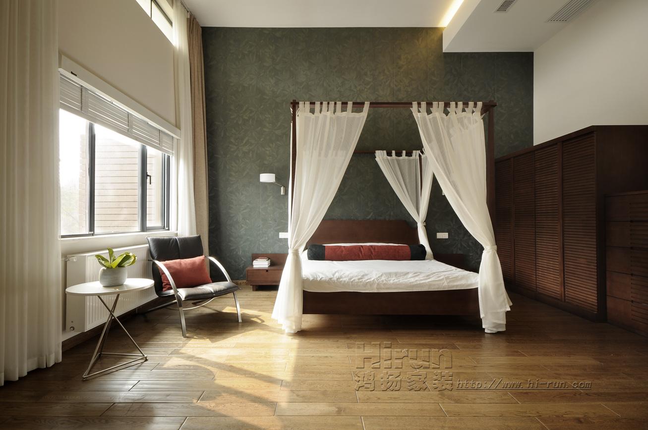 简约 欧式 别墅 收纳 小资 卧室图片来自鸿扬家装武汉分公司在F天下之北欧之光的分享