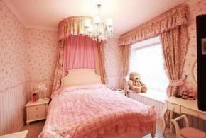 田园 三居 小女人 温馨 卧室图片来自一号家居网成都站在新界五期的分享