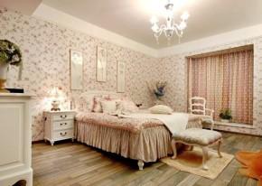 简约 田园 二居 温馨 卧室图片来自一号家居网成都站在保利花园田园风的分享