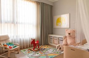 混搭 三居 白领 舒适 儿童房图片来自一号家居网成都站在簇桥玲珑郡的分享