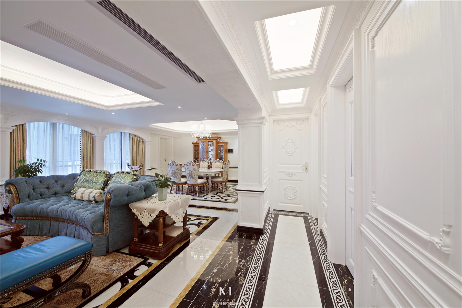 客厅图片来自莫川王远在中信红树湾-浪漫法式风格的分享
