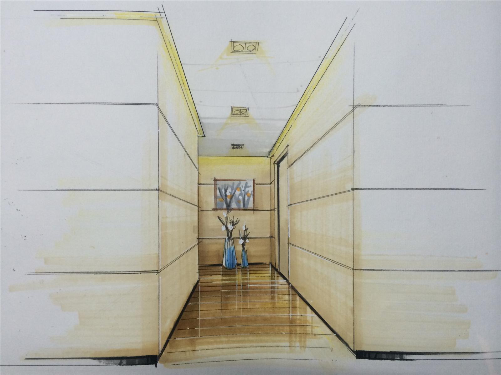 别墅设计 现代简约 玄关图片来自莫川王远在君临天下-现代风格的分享