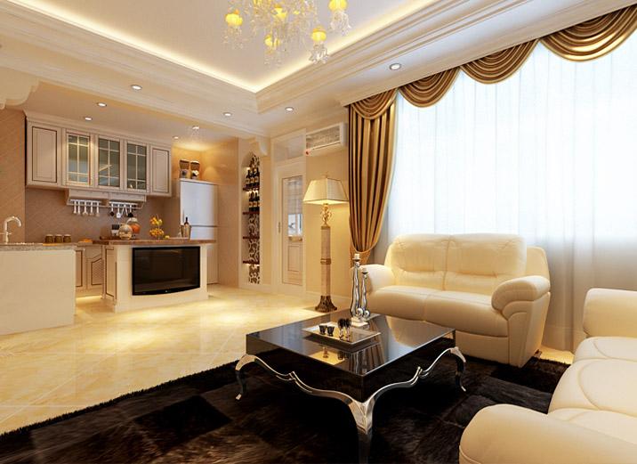 古典 欧式 跃层 客厅图片来自一号家居网成都站在世贸城的分享