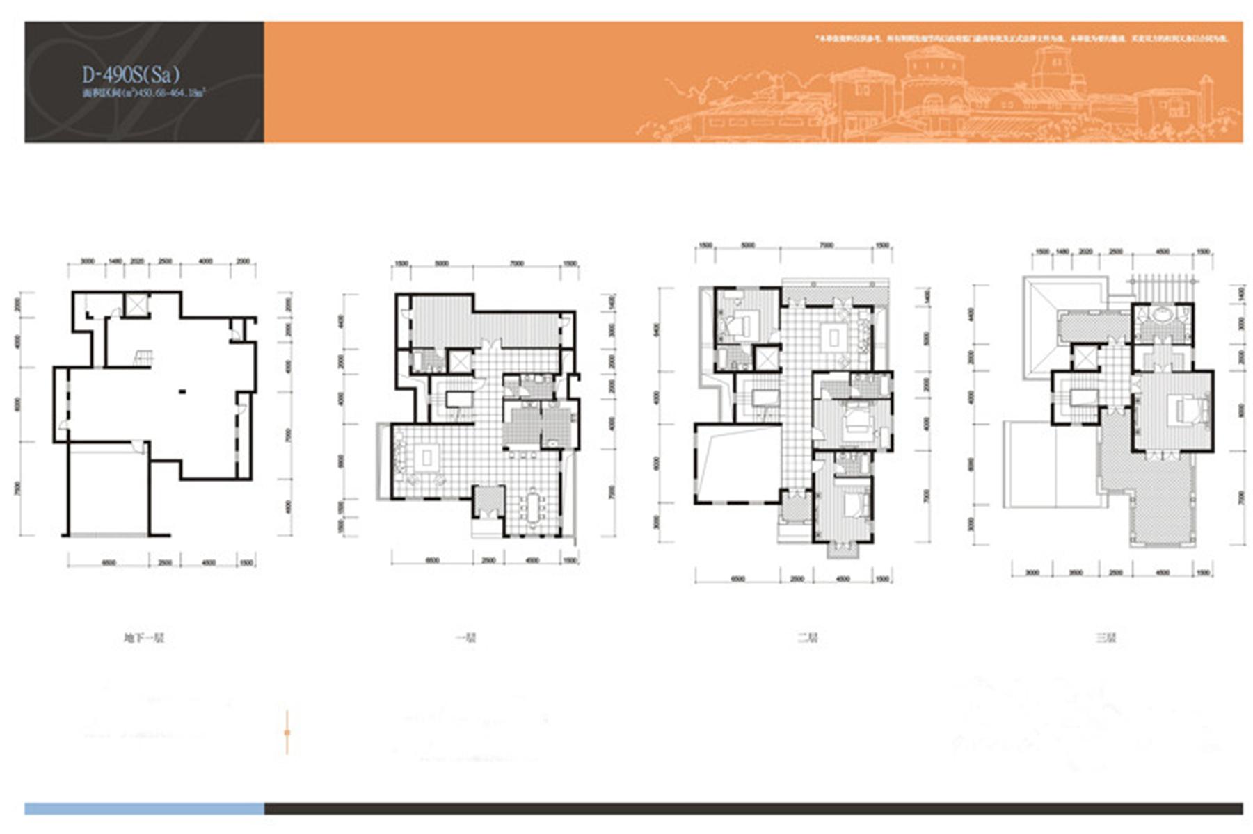 别墅设计 美式风格 堂皇磅礴 户型图图片来自莫川王远在曦城一期-美式风格的分享