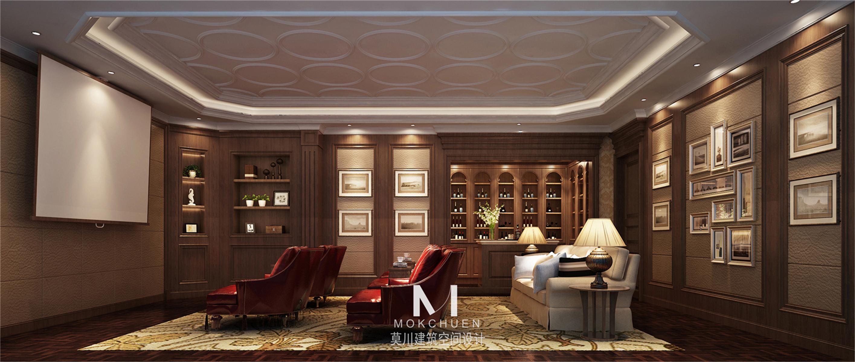 别墅设计 美式风格 堂皇磅礴 其他图片来自莫川王远在曦城一期-美式风格的分享