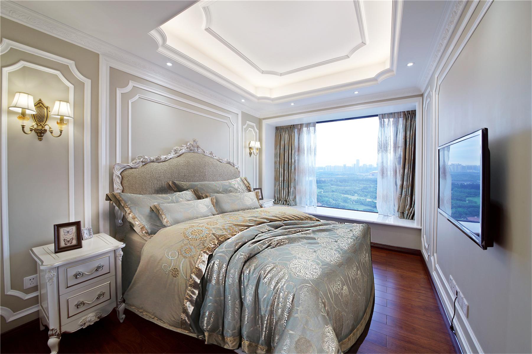 卧室图片来自莫川王远在中信红树湾-浪漫法式风格的分享