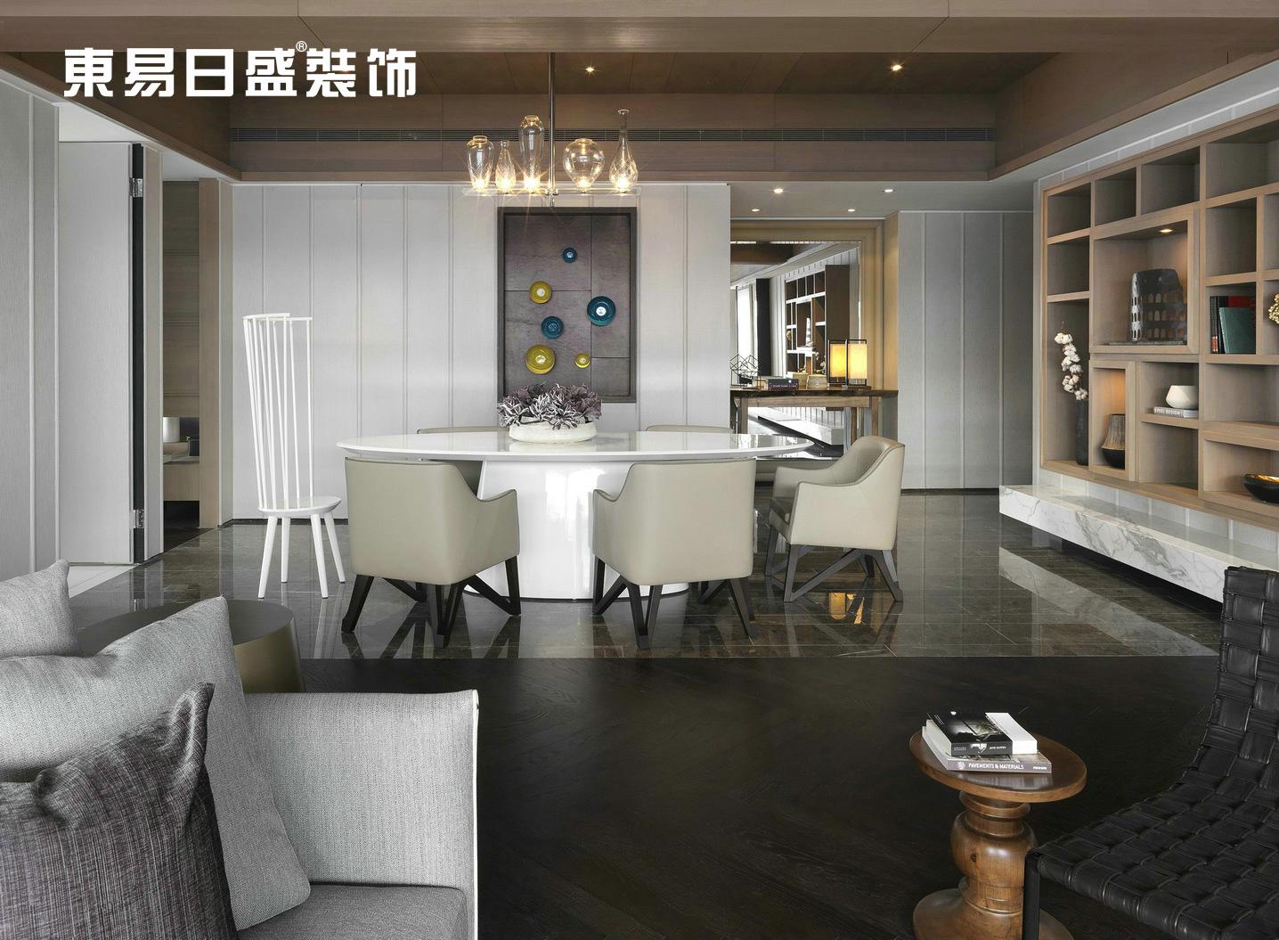 餐厅图片来自武汉东易日盛在华侨城-北欧风格-罗勇的分享