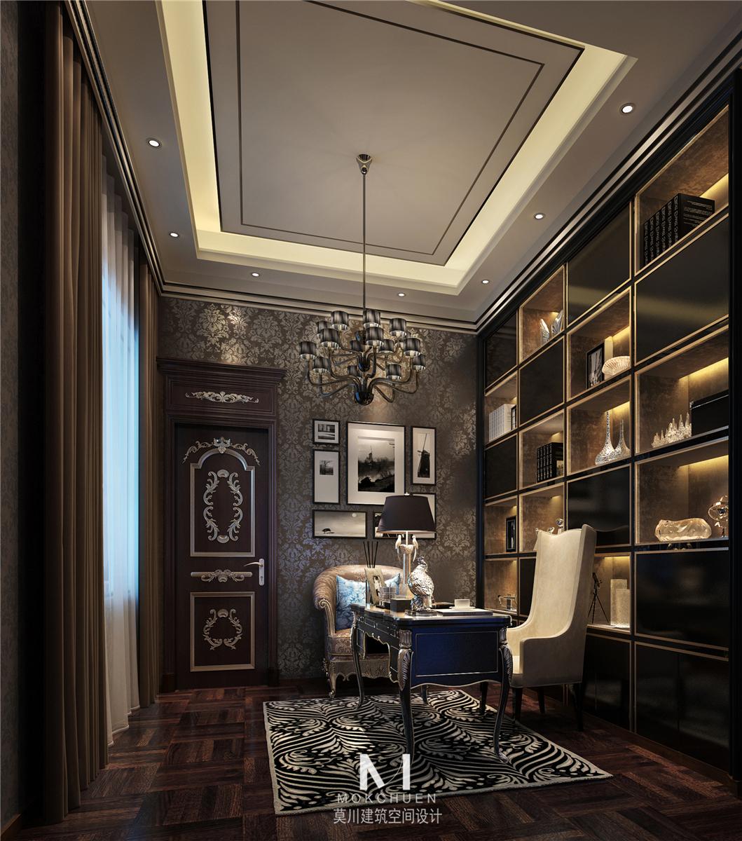 书房图片来自莫川王远在中信红树湾-浪漫法式风格的分享