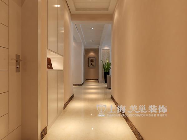 东方银座装修效果图赏析三室两厅140平居室户型布局——走廊布局