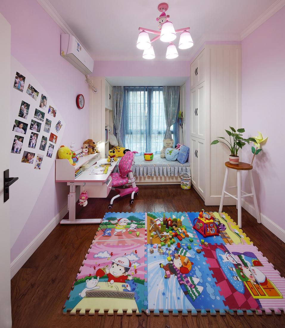 混搭 温馨 三居 简洁 大气 儿童房图片来自一号家居网成都站在佳年华新生活的分享
