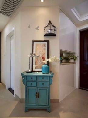 现代 新中式 三居 收纳 旧房改造 小资 客厅 其他图片来自沙漠雪雨在80平米现代新中式风东方韵味的分享