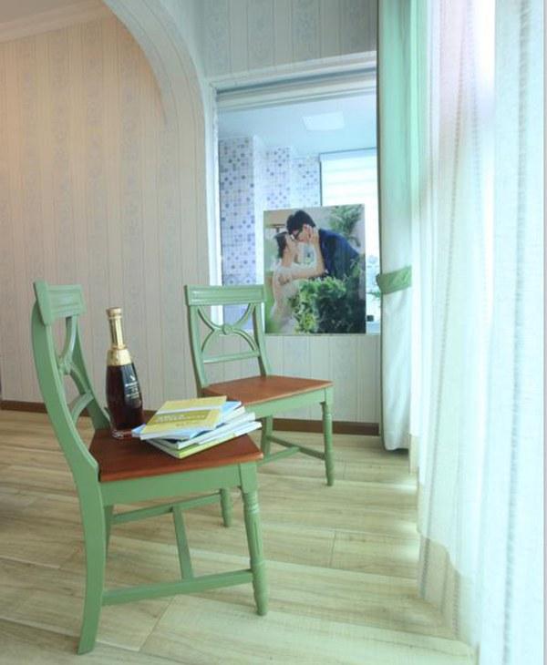 田园 三居 不将就 婚房 客厅图片来自一号家居网成都站在飞大壹号广场的分享