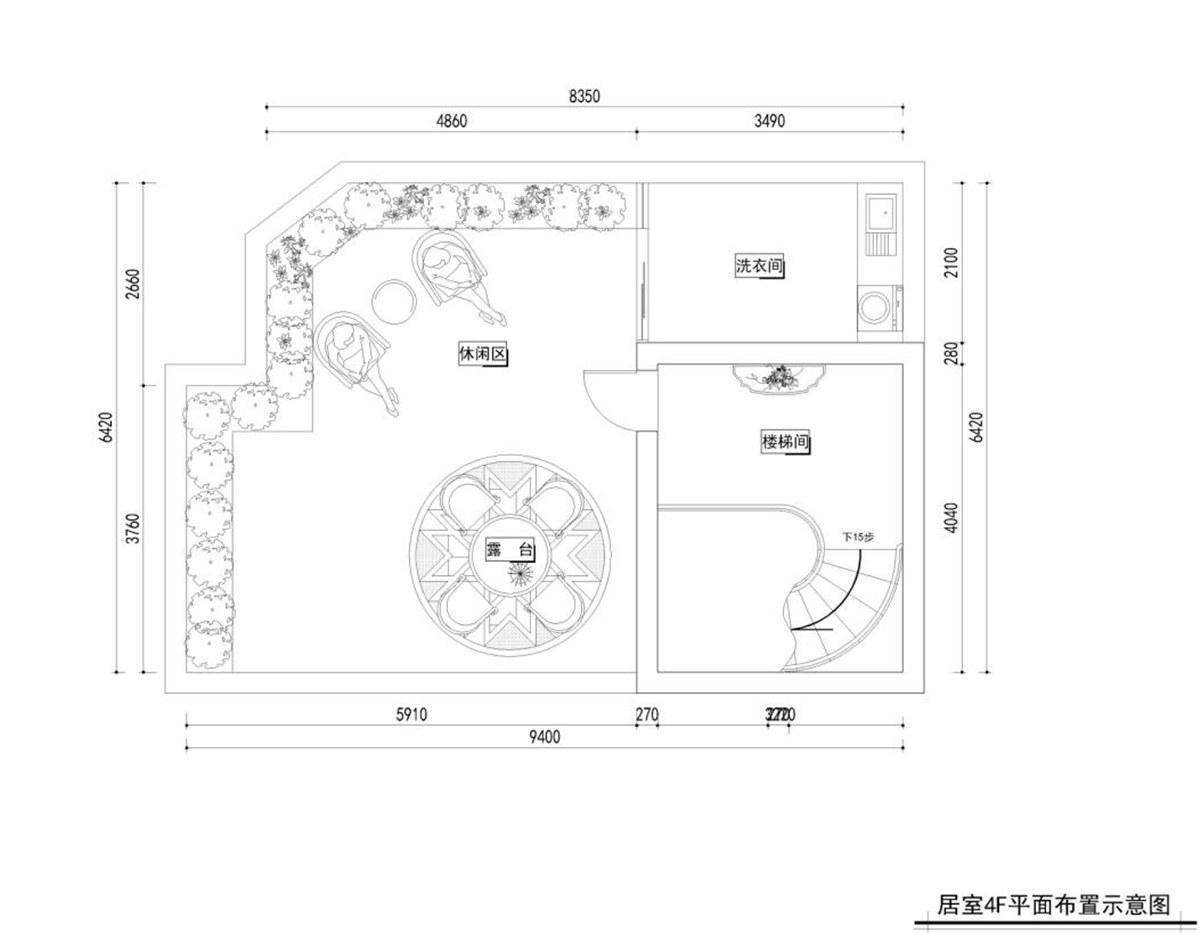 浦发博园 别墅装修 别墅设计 新中式风格 腾龙设计 户型图图片来自设计师曹晖在浦发博园别墅装修新中式设计的分享