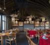 复古风文艺餐厅·居有竹,食有鱼