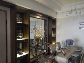 简约 混搭 三居 港式 白领 80后 餐厅图片来自成都V2装饰在浪漫港式简约家的分享