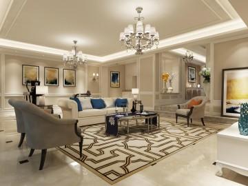 银亿领墅奢华别墅北欧风格设计