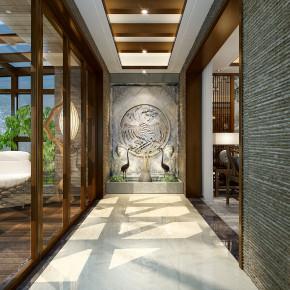 中式 四室 鲁班装饰 效果图 80后 阳台图片来自陕西鲁班装饰公司在金域湾畔三室新中式案例欣赏的分享