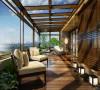 金域湾畔三居室新中式案例欣赏