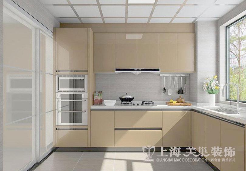 二居 简约 现代 尚城国际 厨房图片来自河南美巢装饰在南阳尚城国际87平简约装修效果图的分享