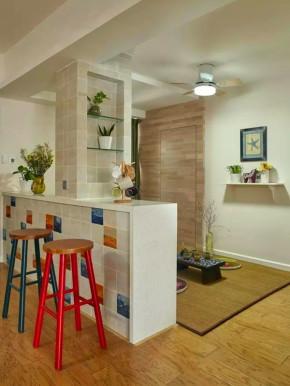 混搭 三居 美式 旧房改造 小资 客厅 其他图片来自沙漠雪雨在120平米简约美式混搭色彩三居的分享