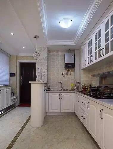 开放式厨房实景图片