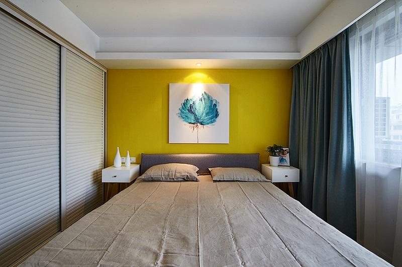三居 收纳 小资 80后 简约 卧室图片来自武汉生活家在橡树湾 90平的分享