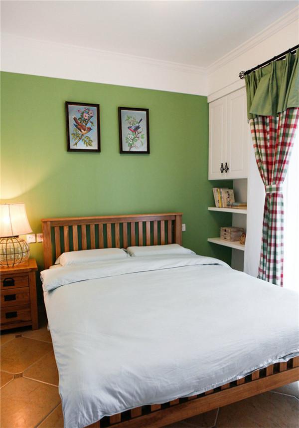 卧室图片来自湖南名匠装饰在高信向日葵广场-田园风格-两室的分享