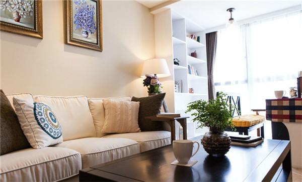 客厅图片来自湖南名匠装饰在高信向日葵广场-田园风格-两室的分享