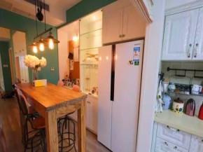 混搭 三居 北欧 旧房改造 小资 客厅 其他图片来自沙漠雪雨在114平米北欧混搭蓝绿色清新小家的分享