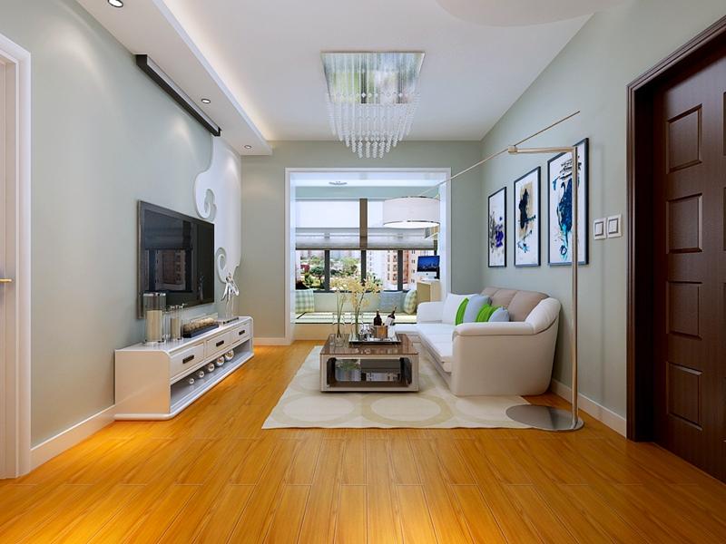 二居 小资 旧房改造 收纳 白领 现代简约 客厅图片来自小二宝子在哈尔滨实创7万装红星嘉园现代的分享