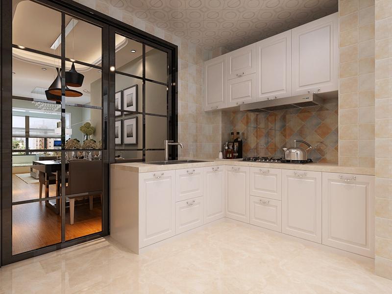 二居 小资 旧房改造 收纳 白领 现代简约 厨房图片来自小二宝子在哈尔滨实创7万装红星嘉园现代的分享